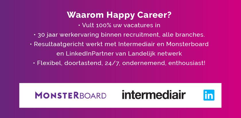 Waarom Happy Career